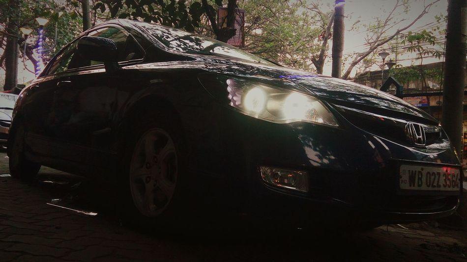 Honda Civic Car Decor Projector Headlamp Drls Car Modification Led Lights  Car Accessories
