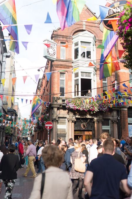 Bloomsday City Celebration Multi Colored Igersdublin Ilovedublin Colorful Dublin