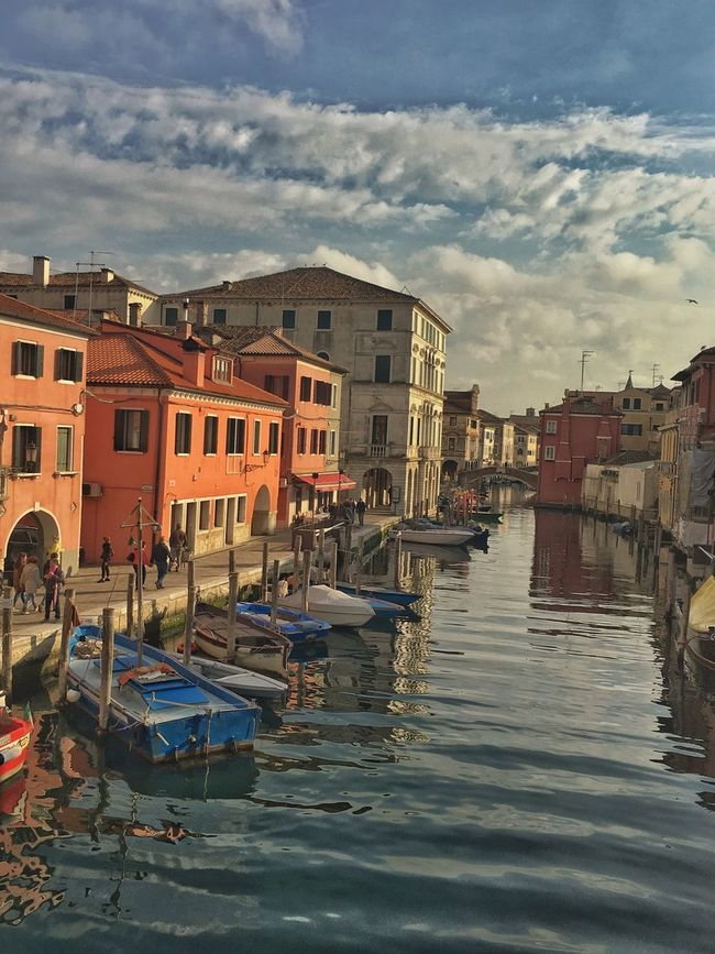 Chioggia, Italy Canal Sea Lovelyview