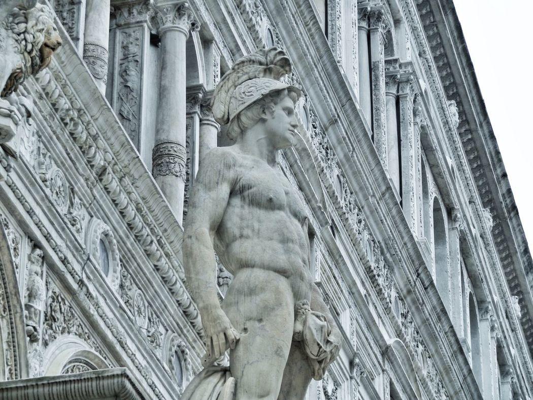 Venezia Venexia Venice Palazzoducale Doge's Palace Sculpture