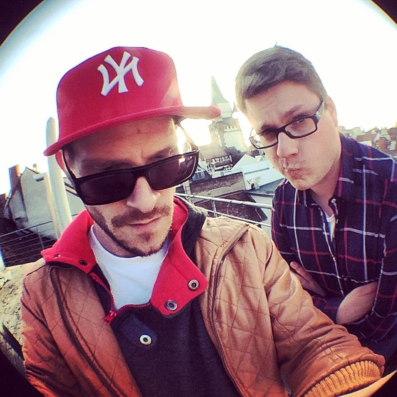 two ram dudes in Freiburg @janorth Virtualidentity