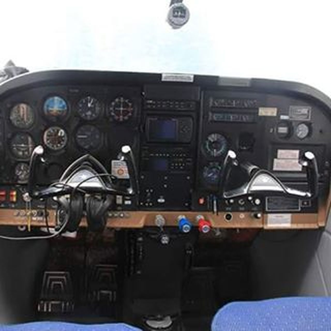 cockpit, air vehicle, transportation, airplane, control, dashboard, helicopter, control panel, aerospace industry, gauge, pilot, flying, no people, indoors, military, piloting, day, close-up