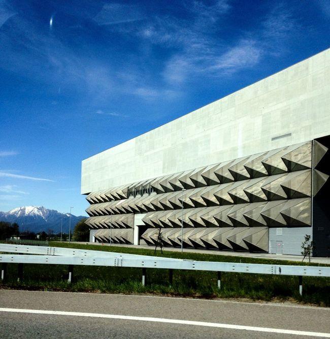 Architecture Architectural Detail Urban Geometry Bellinzona Taking Photos Kehrichtverbrennungsanlage
