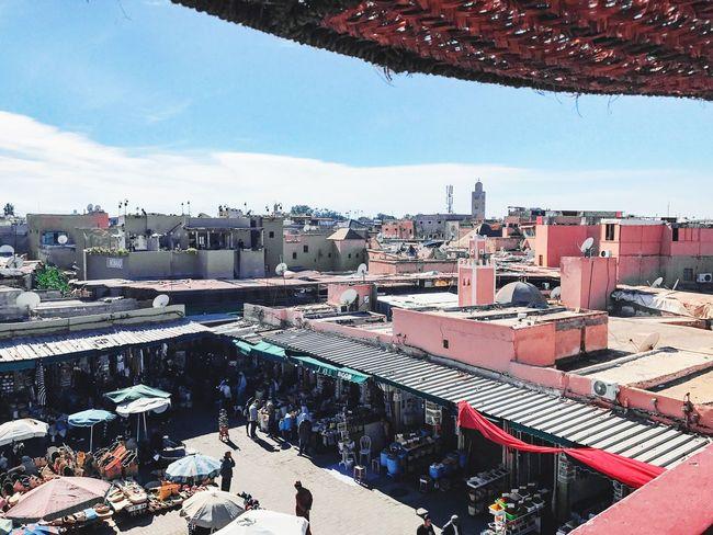 Marrakech Morroco Souks Market Street