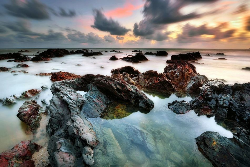 Long exposure sunrise rocky beach Sunrise Sunset Beach Sea Water Sky Long Exposure Reflection Beauty In Nature Beauty Background Landscape Nature Outdoor Getty X EyeEm Getty Images EyeEm Gallery EyeEm Best Shots Travel Holiday EyeEmBestPics Travel Destinations Eyeem Market No People Rural Scene