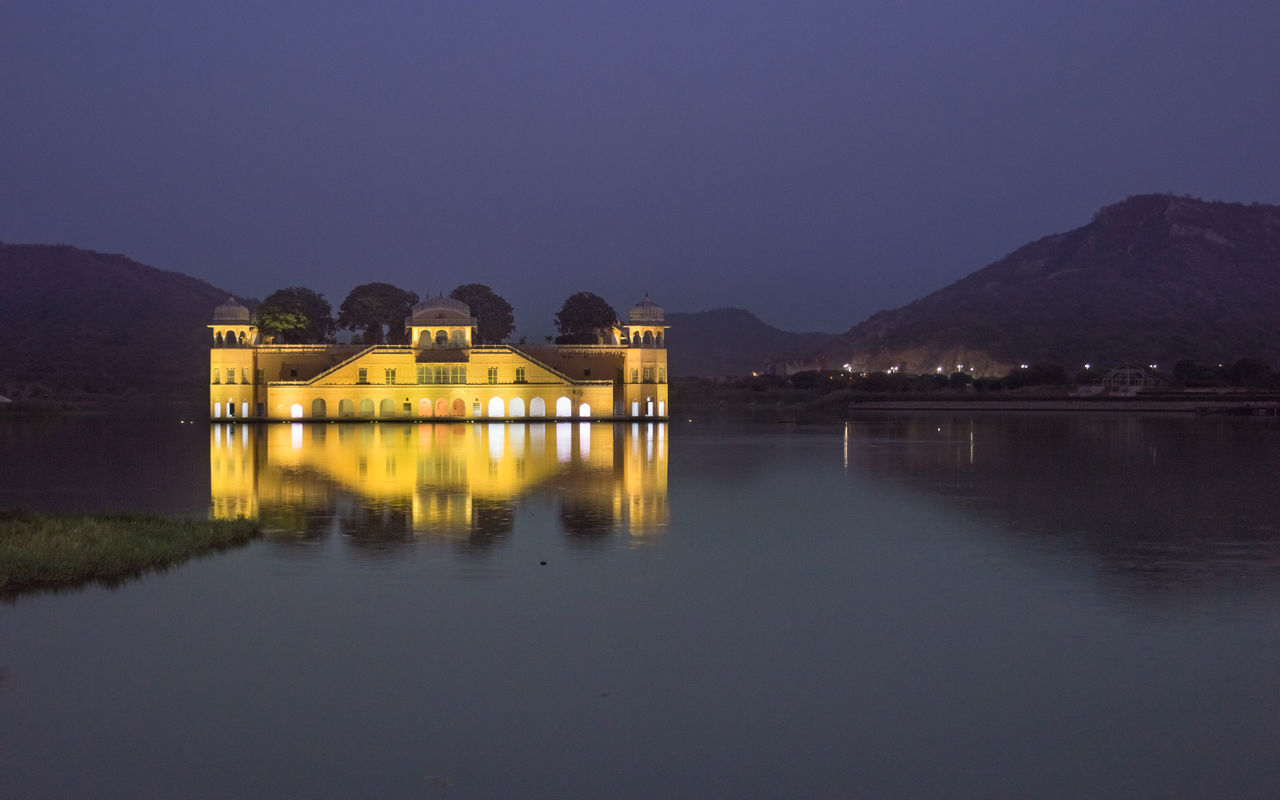 Jal Mahal Night Photography Eye4photography  Nikon D3200 Architecture_collection Jalmahalpalace Indiaphotoproject Eyem Best Shots Award_gallery Architecturelovers