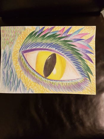 Yellow Close-up Multi Colored Eye's Drawing Dragon Eye's Looking At You♡ Eye's Are Always Watching You Blue Green Color ArtWork Taking Photos Purple Flower