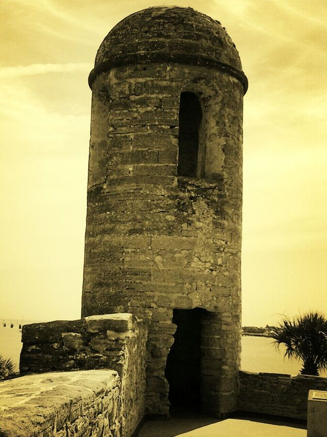 Show Me Your Sepia St Augustine Remebering My Trip The Traveler - 2014 Eyem Awards
