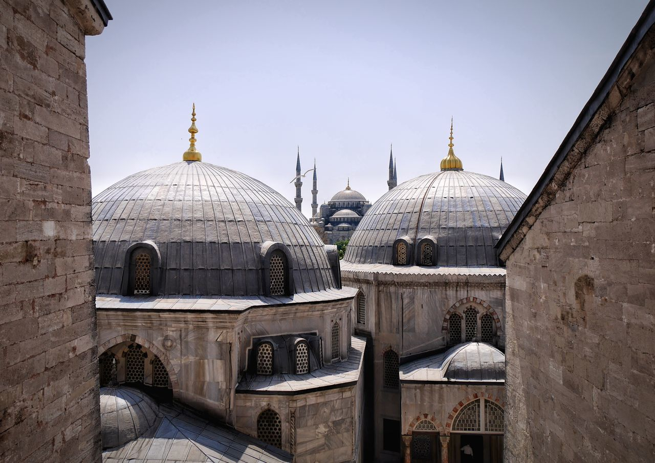 Beautiful stock photos of istanbul, Architecture, Building Exterior, Clear Sky, Day