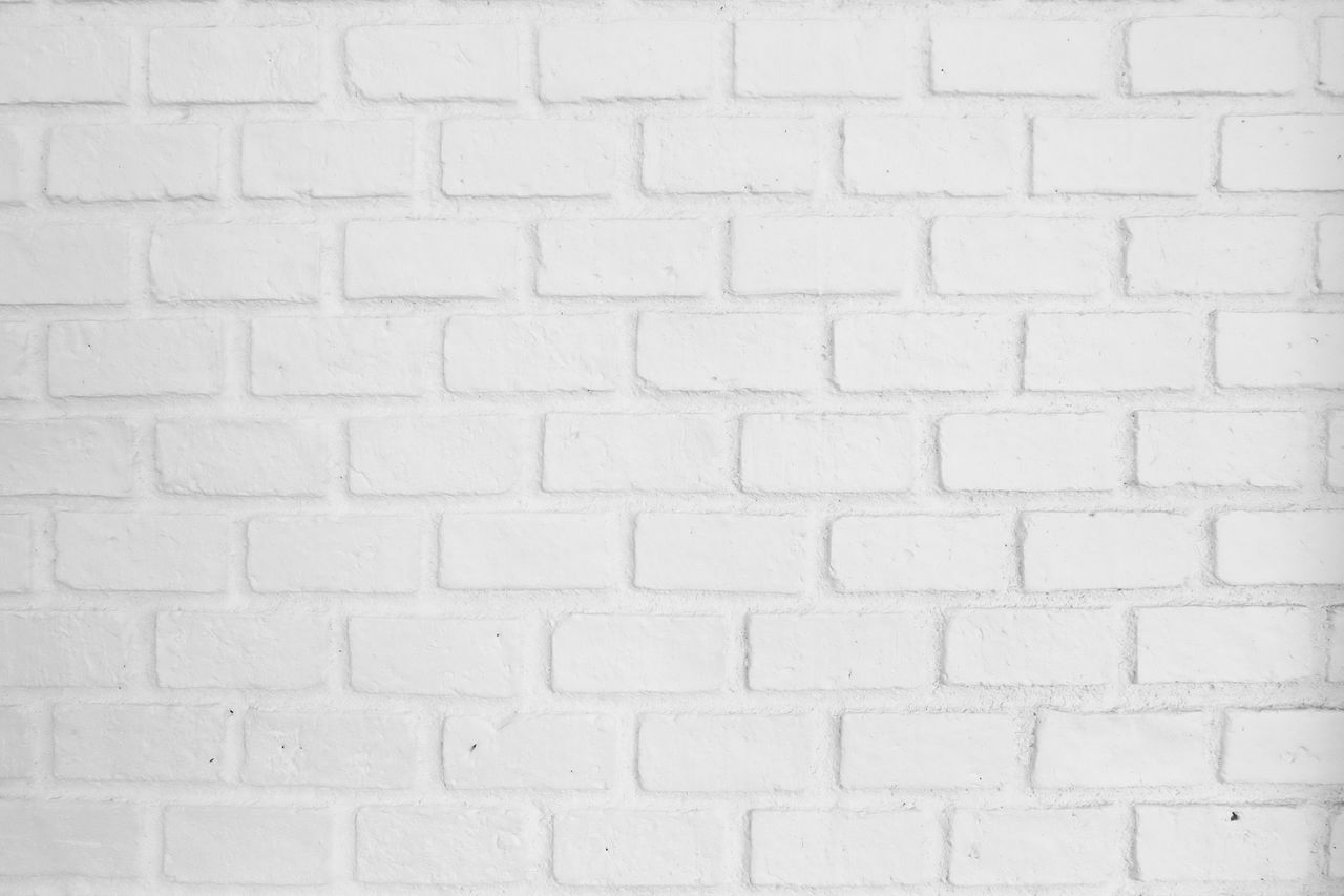 white color, brick wall, wall - building feature, backgrounds, textured, full frame, pattern, close-up, architecture, no people, indoors, day