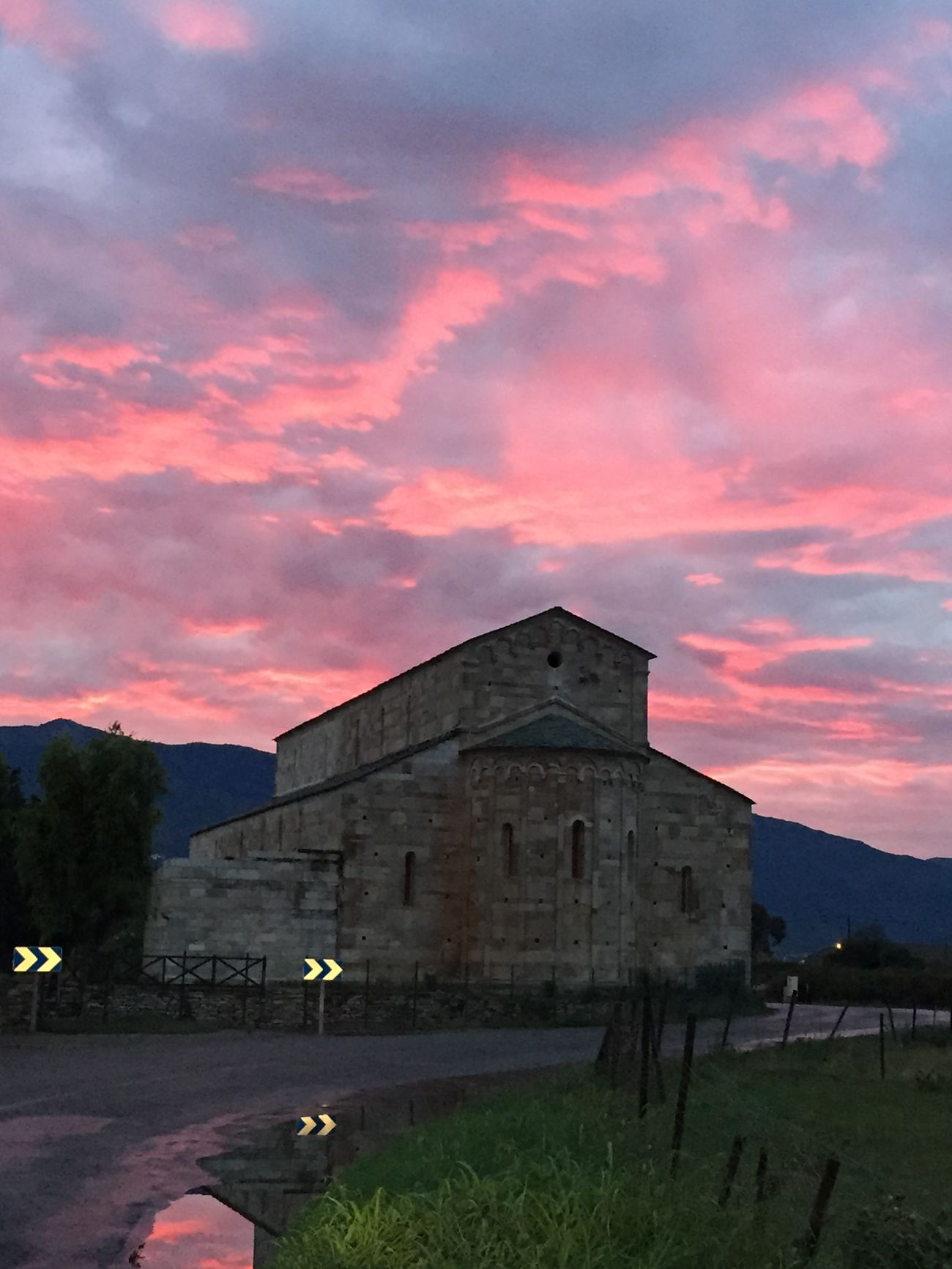 Clouds Clouds And Sky Eglise Chapel Sunset Igercorse Picoftheday Instagood Instapic Nofilter