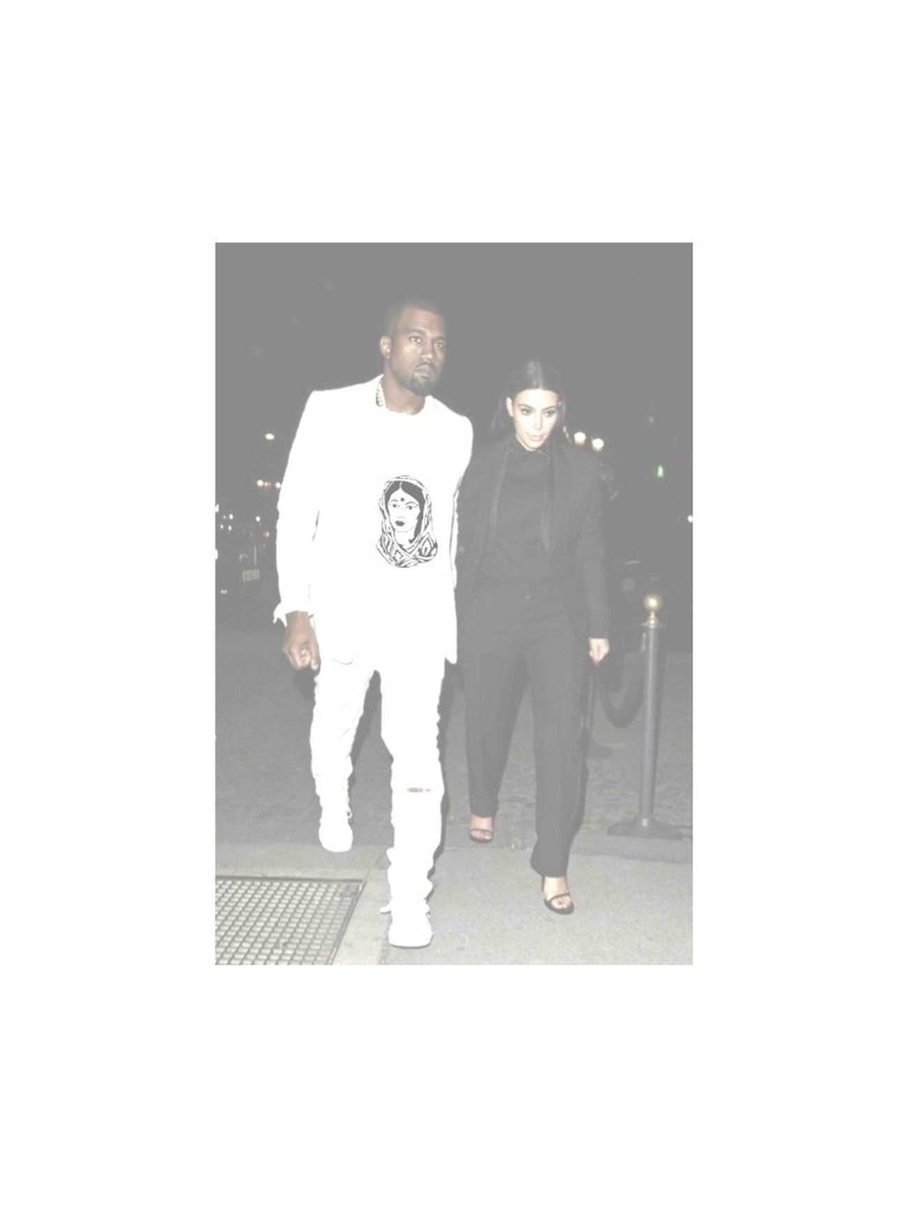 Kanye In The New FVSN Shirt