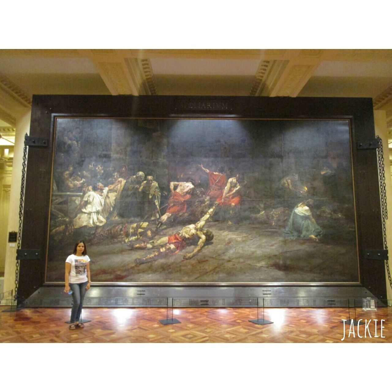 A Day At The Museum atlast very greatful to see Juna Luna's Creation. The SPOLARIUM.... Painting ArtWork Taking Photos Hello World SiningPilipino Iampilipino Treasure Taking Pictures