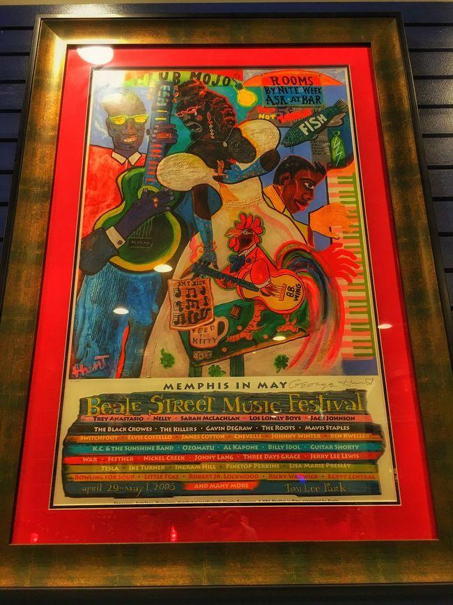 Beale Street Music Festival Poster. Poster