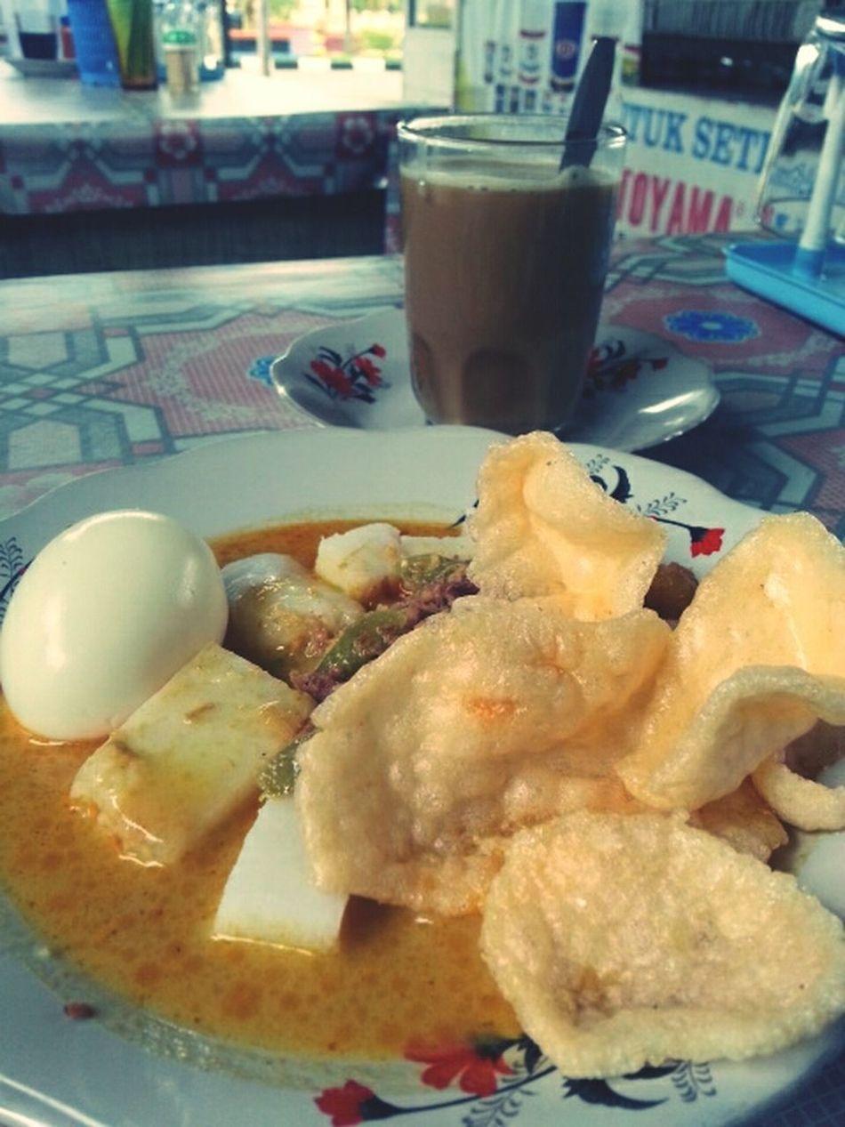"Indonesian local food ""lontong"" Indonesian Food Foodporn"