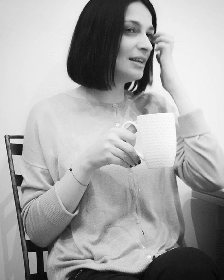 Drinking Coffee while having Break at work Identoba