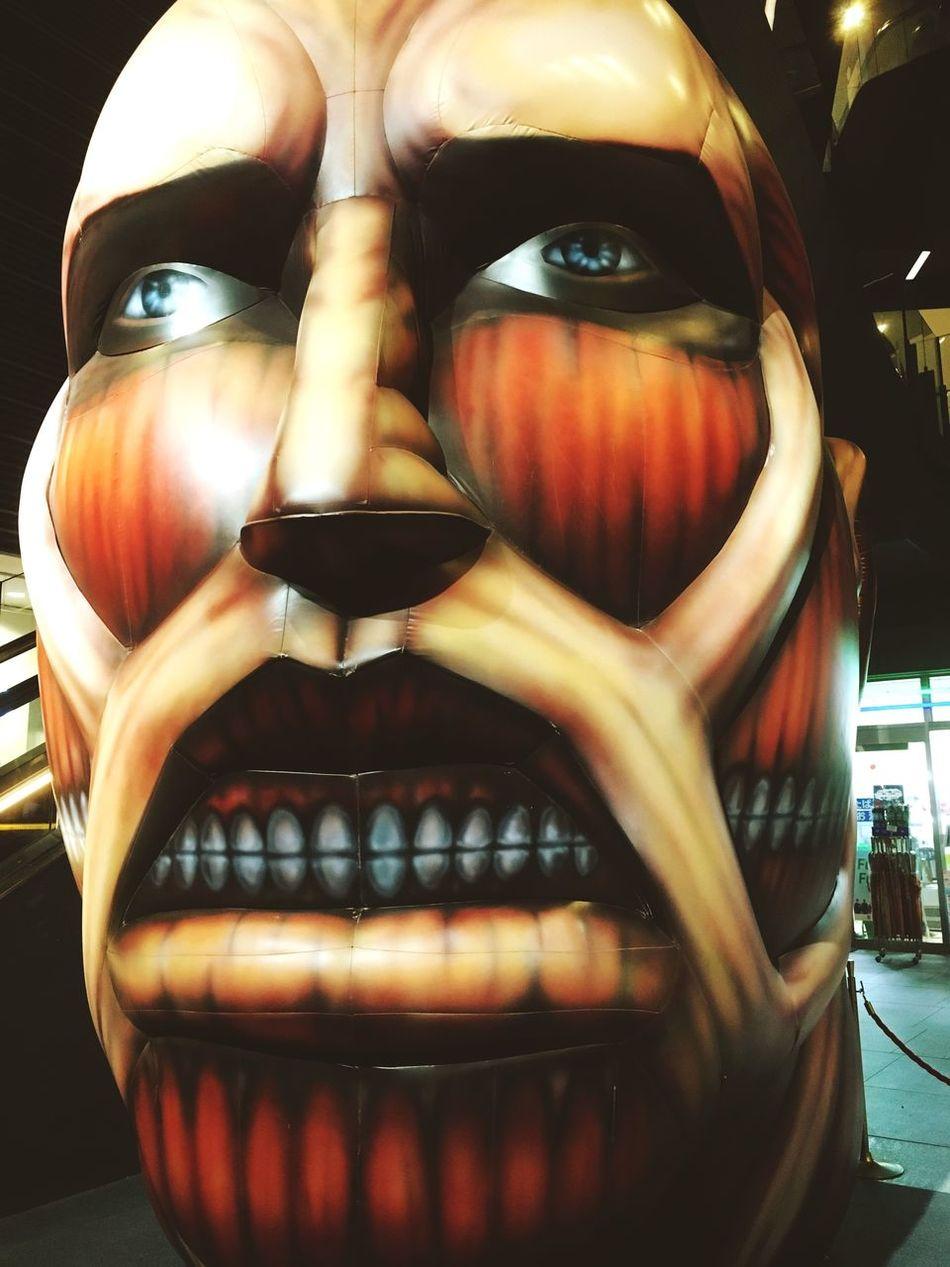 Tokyo Skytree 進撃の巨人 Tokyo,Japan Comic Huge Monster