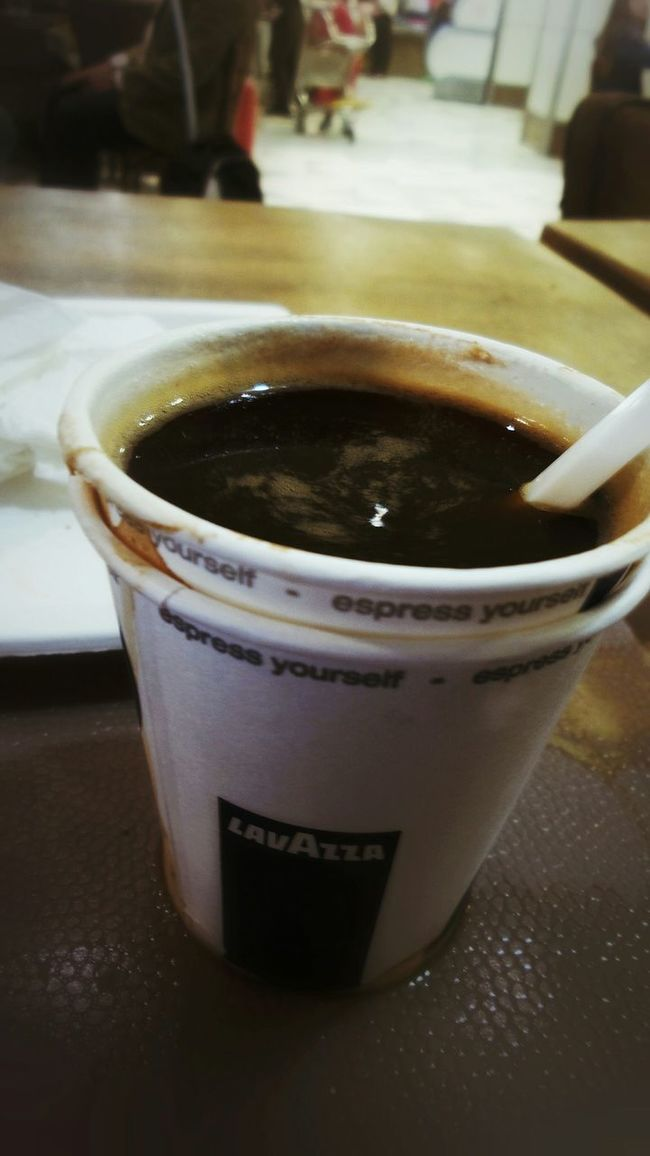 Per fortuna avevo chiesto un espresso... Italian Coffee Culture At The Airport Ending A Trip