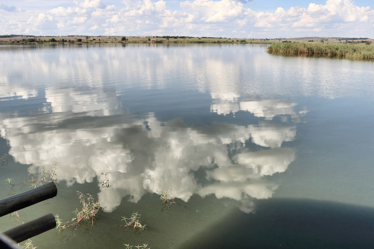 Beauty In Nature Cloud - Sky Gauteng Nature Nature Reserve Reflection Rietvlei Nature Reserve South Africa Water
