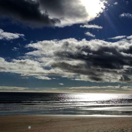 Praia de Altura Beach Sea Cloud - Sky Water Horizon Over Water Sand Scenics