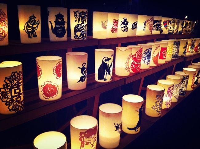 蔵王温泉炎の広場 Candle