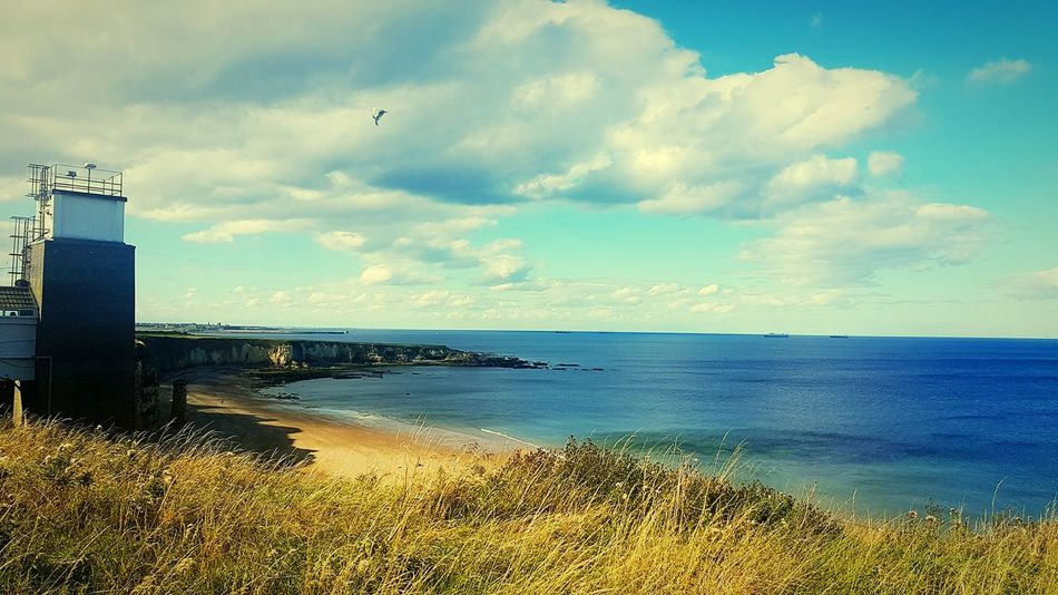 Water Sea Tranquil Scene Scenics Tranquility Sky Cloud Cloud - Sky Nature Shore Day Beauty In Nature Outdoors Blue Non-urban Scene Coastline No People Cloudy