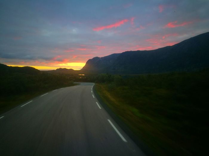 Hanging Out Taking Photos Beatiful View Love My Job Northern Norway Norway🇳🇴 HuaweiP9 Truckers View Lofoten Norway Lofoten Truckerslife Sky And Mountains