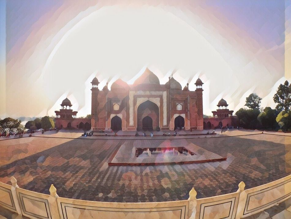 Hi! Hello World Architecture Arch Built Structure History Religion Day Place Of Worship Spirituality Dome Indoors  No People Travel Destinations Water Building Exterior Sky