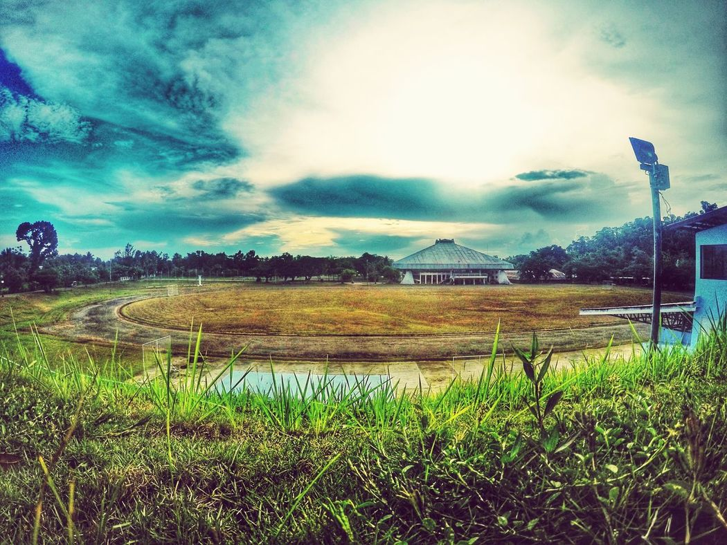 When the sun dries the football field.. Eyeem Philippines Football EyeEmBestPics Summerheat