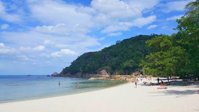 Thailand Beach Kosamui Sand Thai Thailand_allshots Taking Photos Samsungphotography EyeEm Sea Waves, Ocean, Nature Sea And Sky
