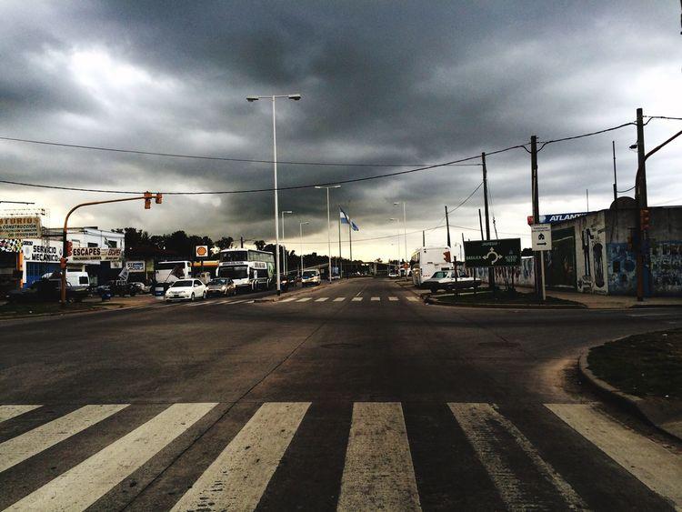 Road Street Sky