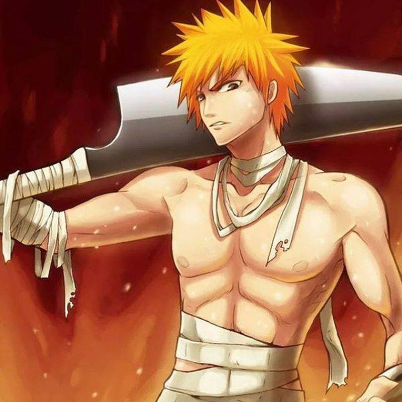 Love him♡ Ichigo Kurosaki Bleach Anime manga