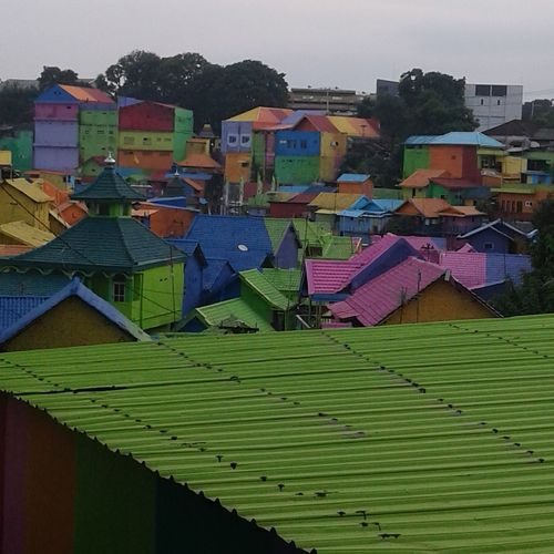 Village colors Multi Colored Outdoors No People Social Issues City Full Collor