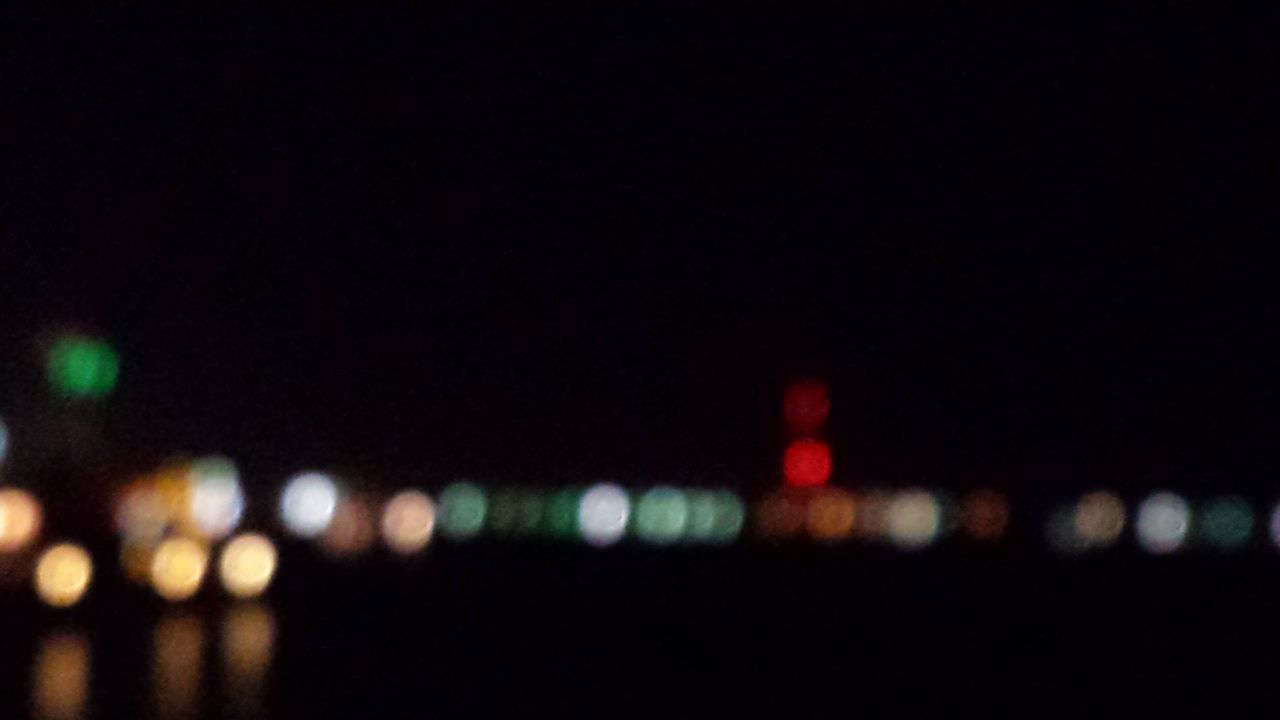 illuminated, night, copy space, defocused, outdoors, no people, nature, close-up, city, sky
