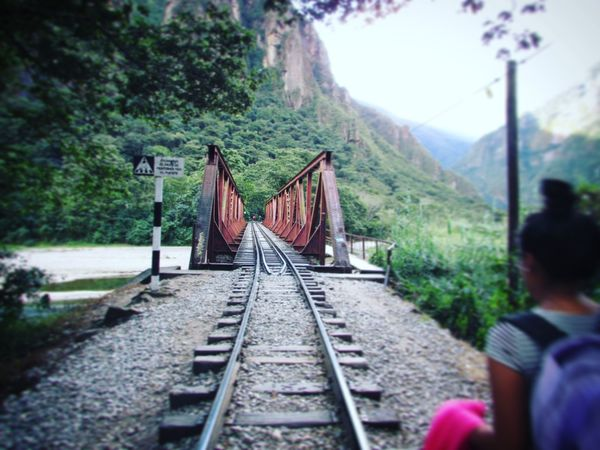 Connection Forest Railroad Track Tranquil Scene Bridge Narrow Long Diminishing Perspective The Way Forward Tranquility Bridge - Man Made Structure Cable Solitude Countryside Nature Outdoors Mountain Remote Day Engineering Green Color First Eyeem Photo Beauty In Nature Instagram :@brighamchd