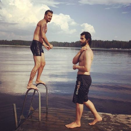 Lake time Hanging Out Enjoying Life Check This Out Hello World Finland That's Me Mänttä Suomi Lake View Swimming