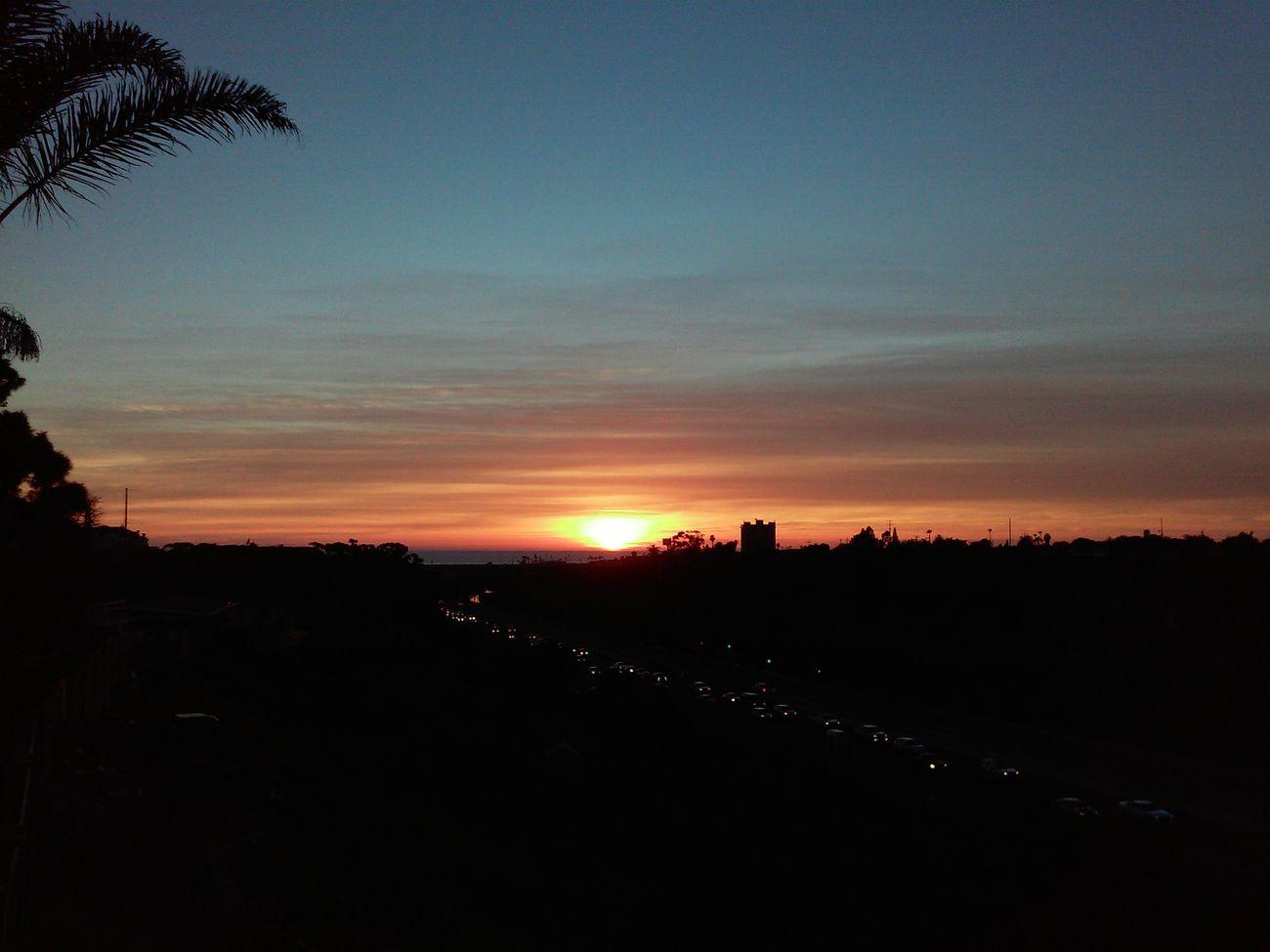 Sunset Ocean Photography Oceanside OceansideCA Cloud - Sky Sunsetaday