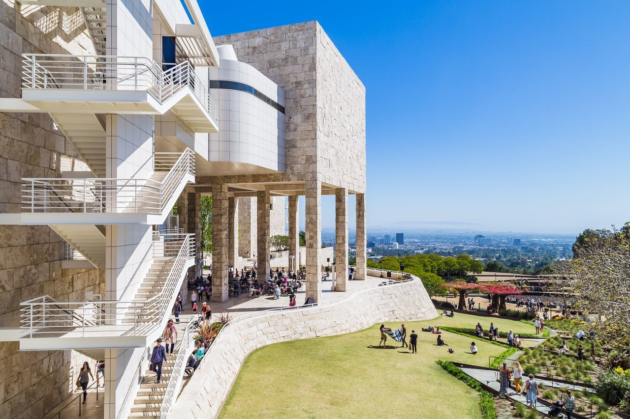 The Getty Series: Exhibition Pavillion, Garden Terrace Cafe, & LA Cityscape. This next series consists of photos from The Getty Center Thegettymuseum Art Losangeles Landscape Landscape Photography Architecture Architecture_collection Architecturephotography The Architect - 2016 EyeEm Awards A Bird's Eye View Investing In Quality Of Life