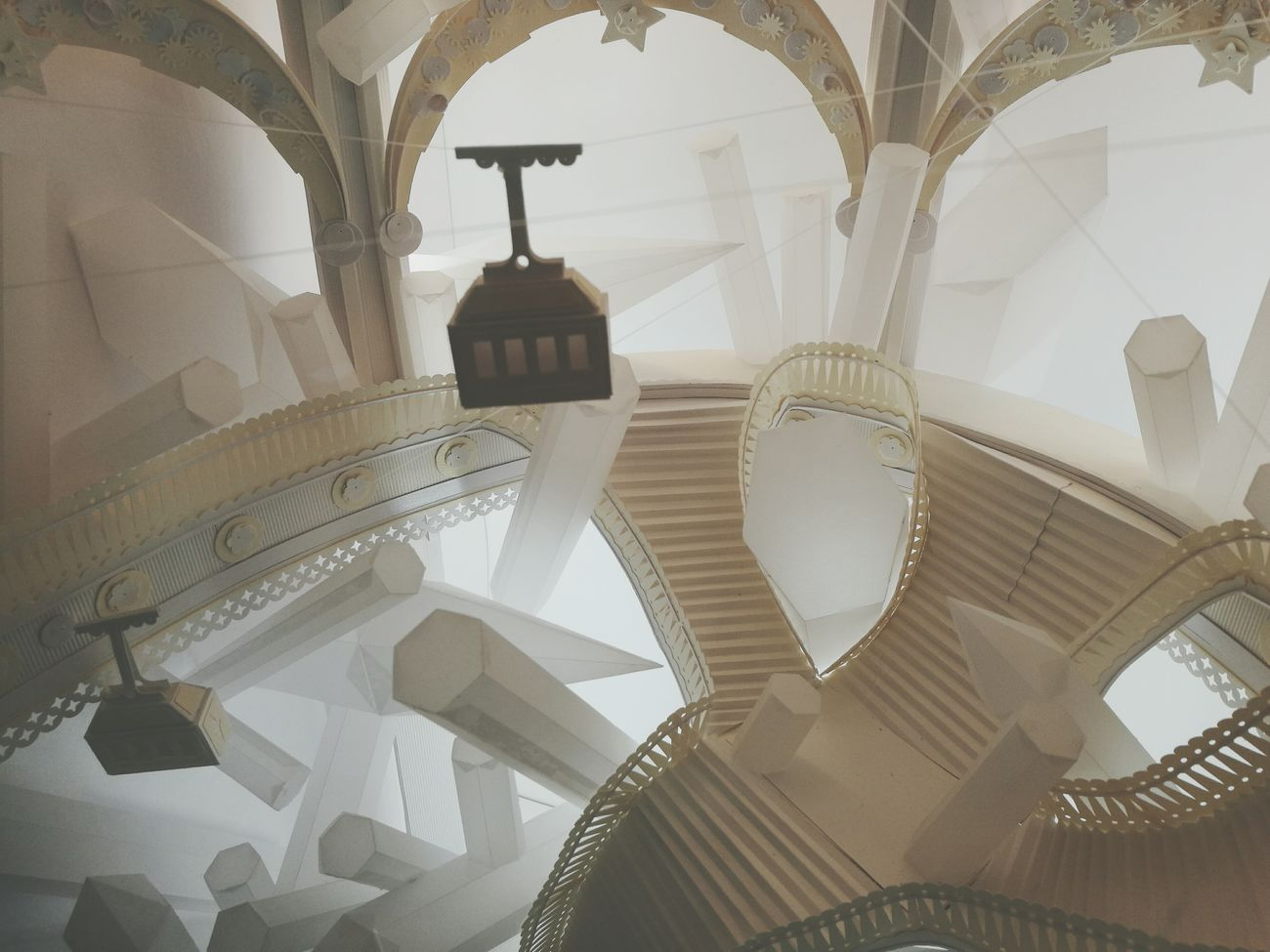 Amazing paper work ! Low Angle View Architecture Huawei P9 Leica Papercraft Paper Built Structure HuaweiP9 EyeEmBestPics Artistic Simplicity Popular Photos Artist Galleries Lafayette Handmade For You