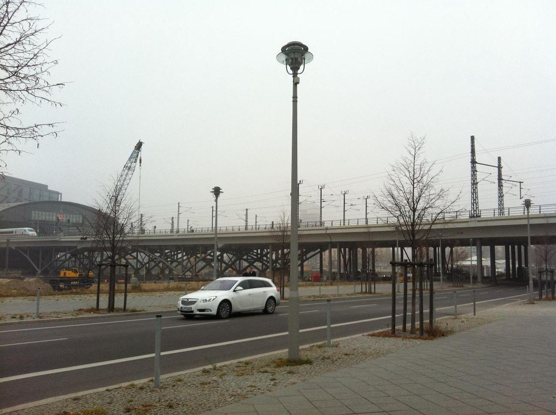 grey and foggy at Kapellufer Grey And Foggy