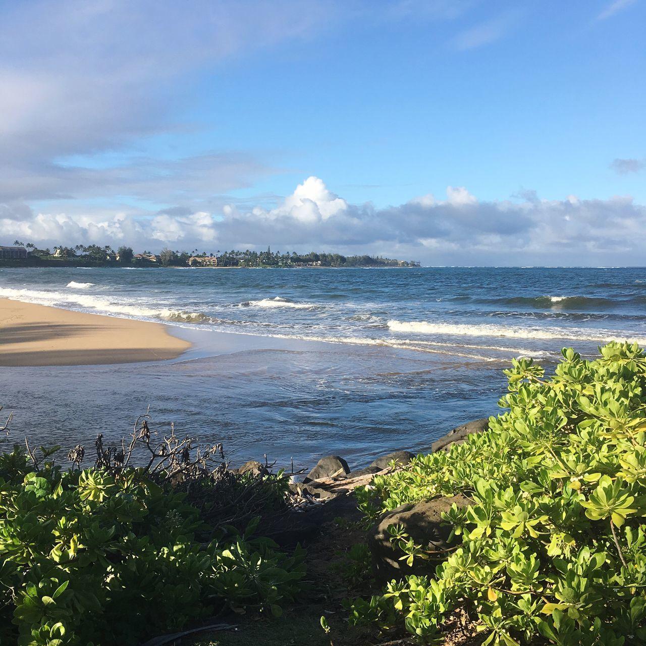 Where the river meets the sea...... Wailua Beach Photography Kauai Hawaii