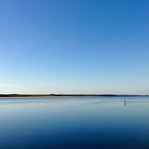 Lost in the Blue! Wanderlust Goodvibes Water Outdoorphotography Instadaily Rowing LeisureTime Blue Zen Peacefull Sunny SunnyWinter Bythesea Northofportugal Esposende Perfectsquare Outdoors Aquatic Bliss Peaceful Energizing