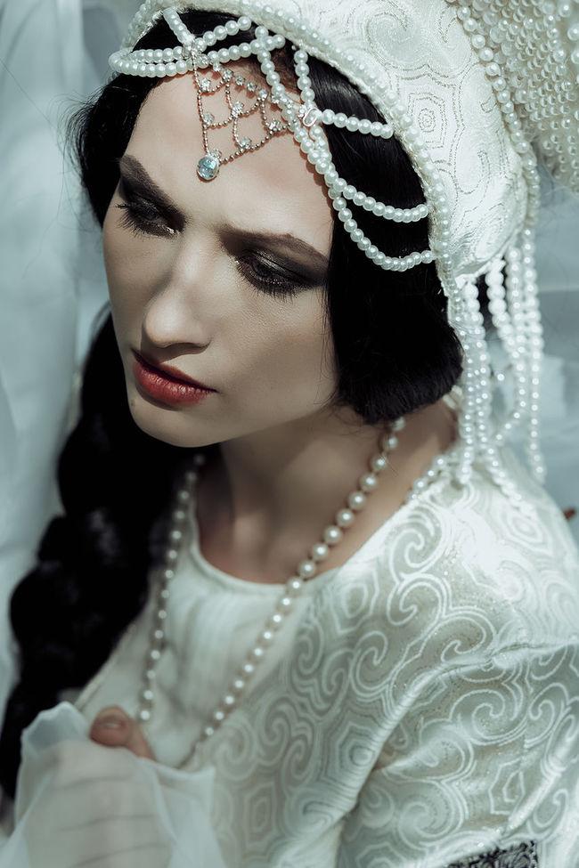 Fashion Fela Female Headdress Kokoshnik Princess Princess ♥ Traditions Over The World Water Young Adult