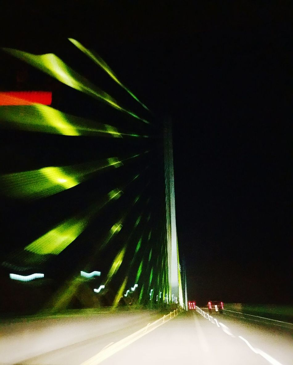 Skyway Bridge Florida City Life Road Road At Night Colorful Beautiful Gorgeous Fun Life Unique City Street Adventure Urban Exploration Urban Exploring Urban Explorer Amazing Cool Pic Creative Interesting Pictures Nightview Night Shot Unique Beauty Nightshot Night View