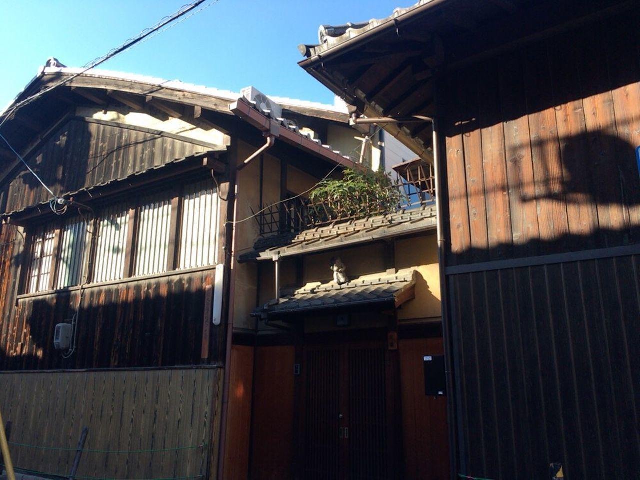 Kyoto City Kyoto Tradisional Kyoto Tradisional House Kyoto Tradisional Street Kyoto Matiya Matiya Kyoto Japan
