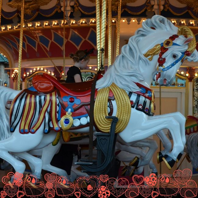 Love goes around and around Carousel Merry Go Round Life Is A Merry Go Rounding