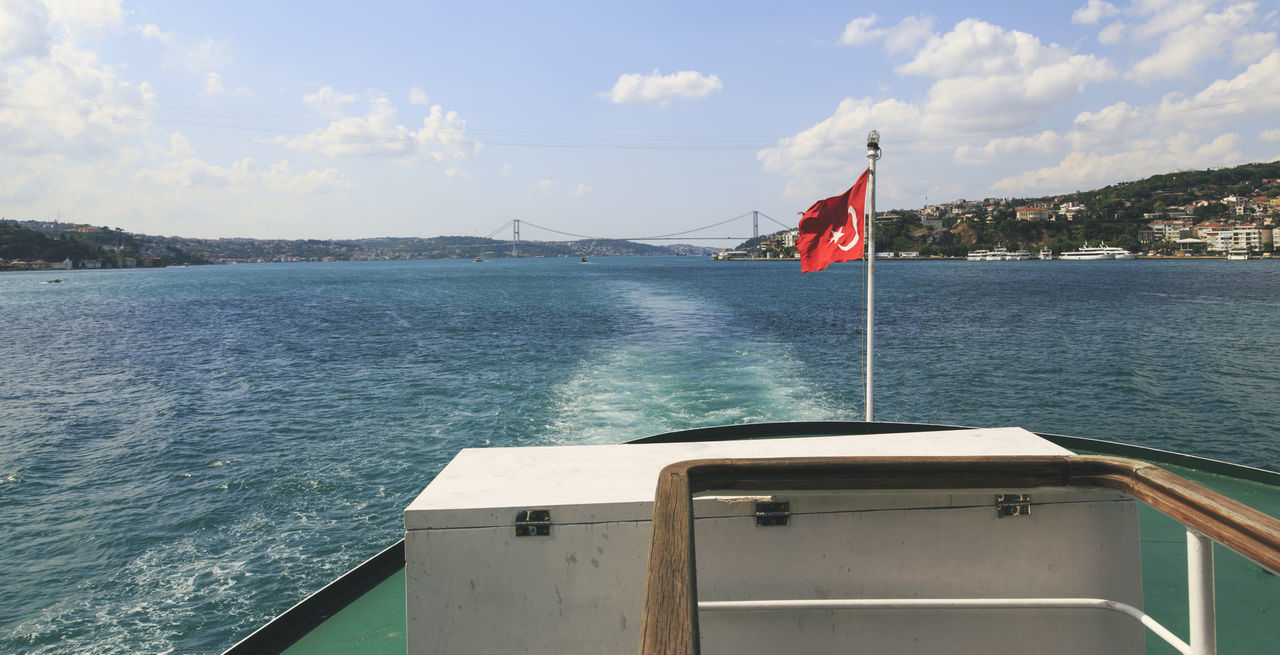 Beautiful stock photos of istanbul, Beauty In Nature, Boat, Cloud - Sky, Cloudy