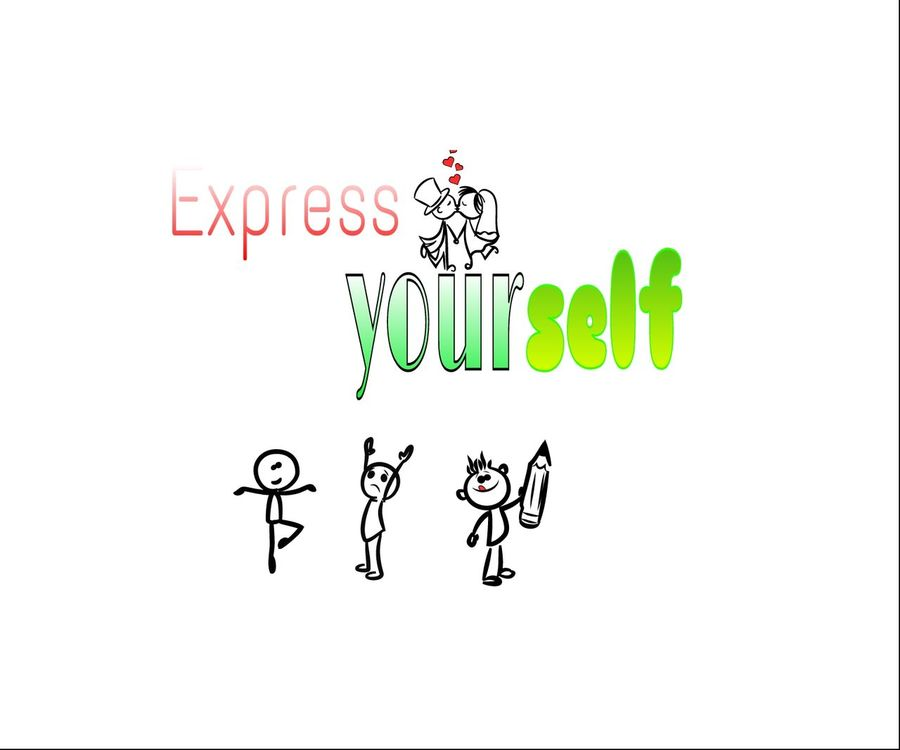Don't be afraid to express yourself Express DontBeAfraid