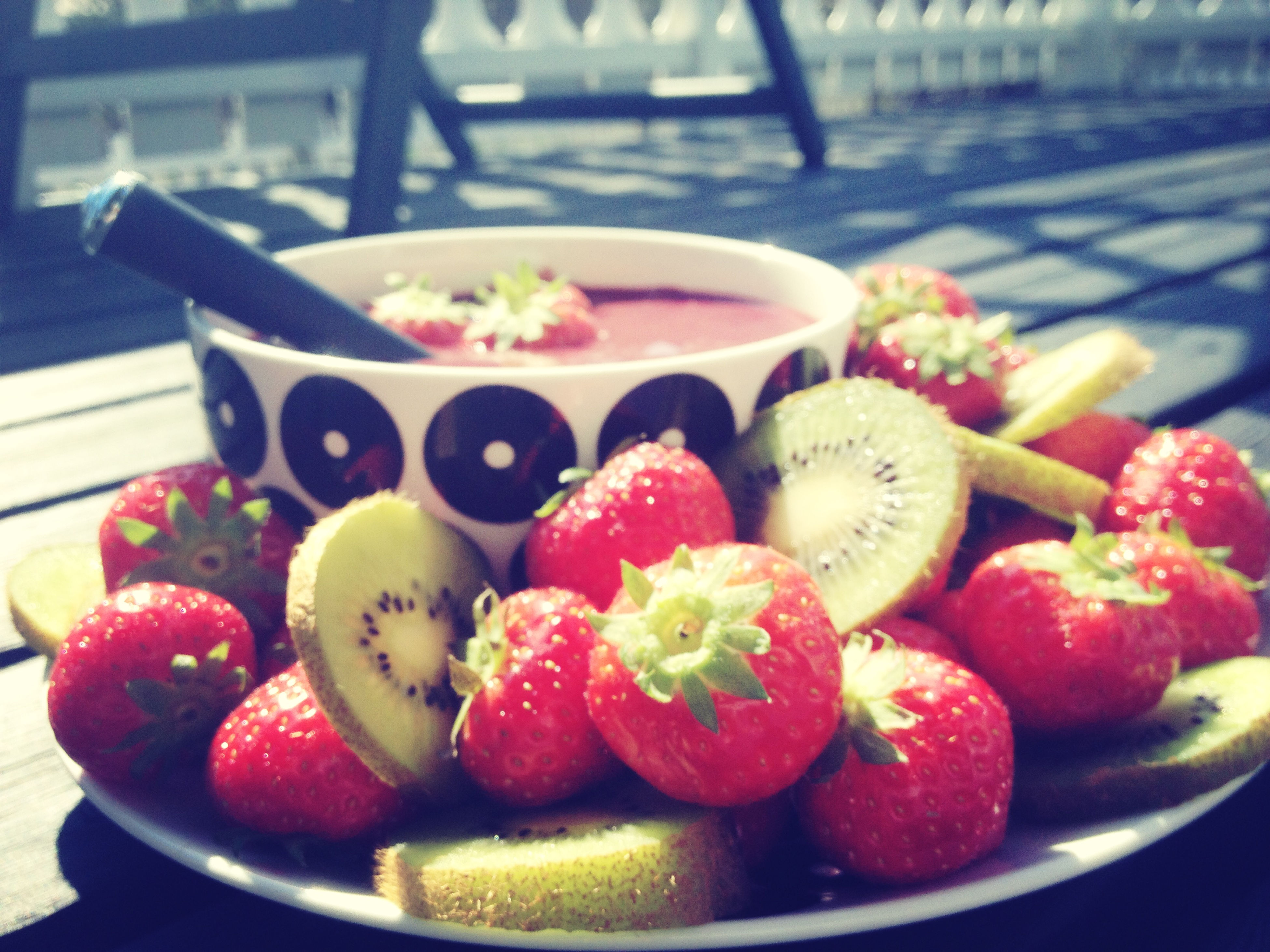 food and drink, food, freshness, fruit, healthy eating, strawberry, indoors, still life, table, red, bowl, close-up, sweet food, ready-to-eat, raspberry, plate, ripe, focus on foreground, indulgence, berry fruit
