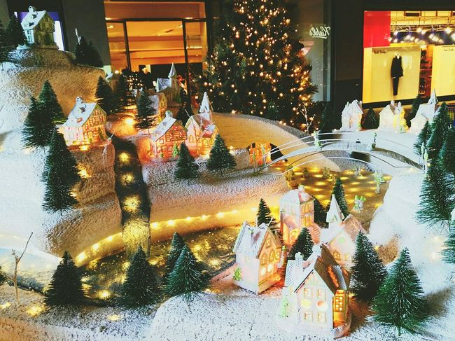 Christmas village. Showcase: December Chrismastime Christmas Decorations Christmas Lights Best Christmas Lights Eyeem Philippines